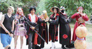 Cosplayer beim Japanfest in München
