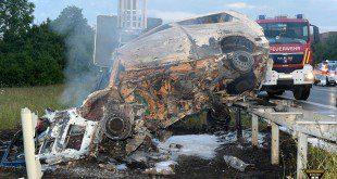Tödlicher Verkehrsunfall A94