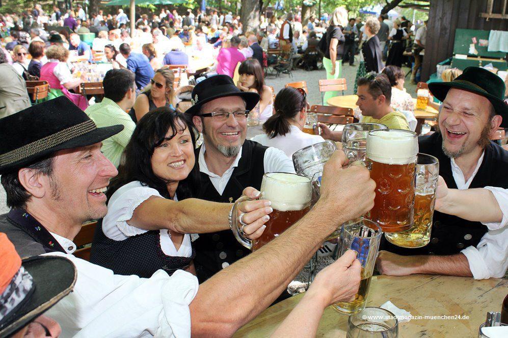 Augustinerkeller Biergarten München