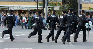 Polizei Grünwalder Stadion München