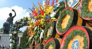 Bavaria mit Löwenbräu-Prachtgespann Oktoberfest