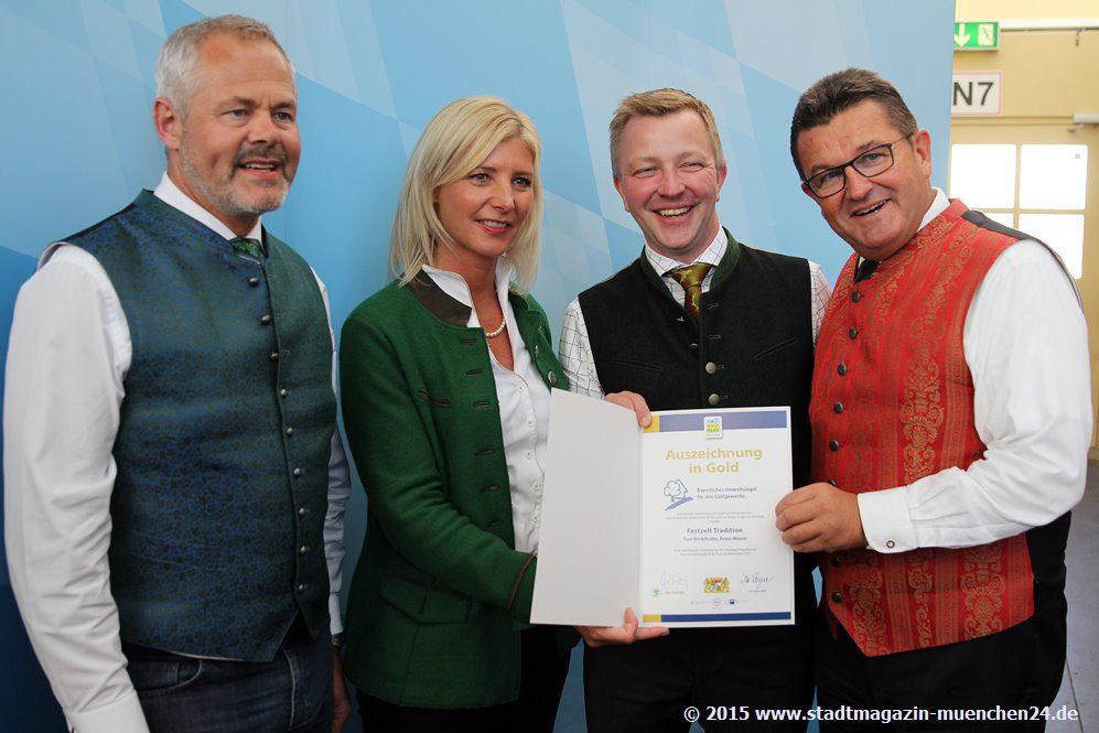 Bayerisches Umweltsiegel für Wiesnwirte