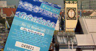 Oktoberfest Biermarken einlösen
