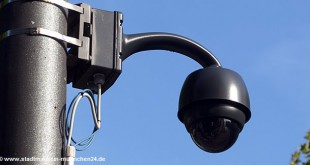 Video-Überwachung Poliizei Oktoberfest 2015