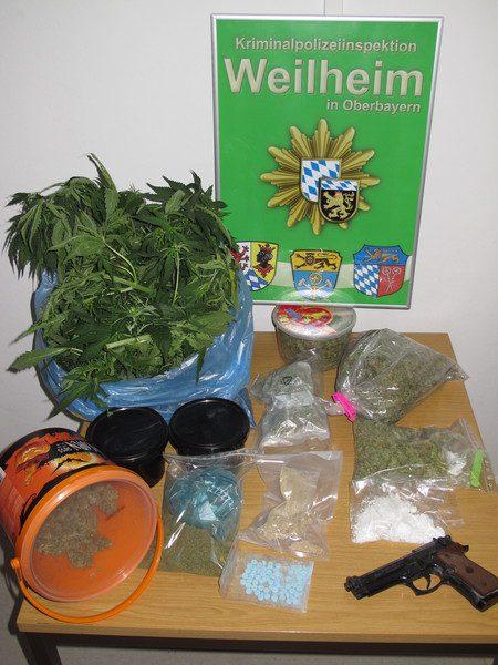 Drogenrazzia München