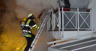 Brand in München Harlaching