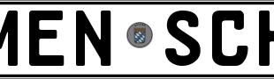 Kfz-Kennzeichen MENS-SCH