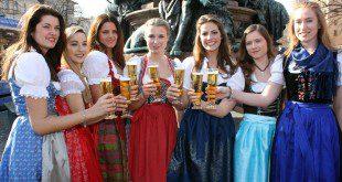 Finalistinnen Wahl Bayerische Bierkönigin