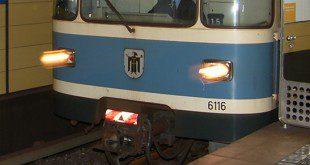U-Bahn Front München