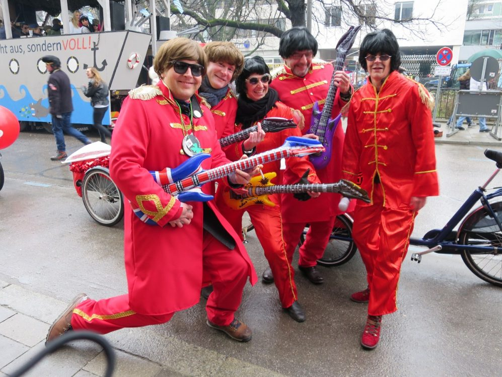 Rote Rocker von der SPD-Stadtratsfraktion München