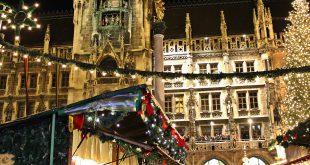 Hintergrund Christkindlmarkt München
