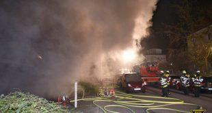 Tiefgaragenbrand in München-Laim Quelle Foto Berufsfeuerwehr München