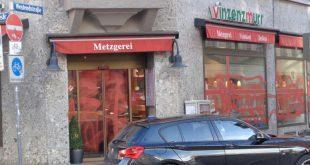 Farbanschlag auf Vinzenz Murr Läden in München Quelle Foto linksunten.indymedia.org
