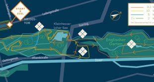 Neuer Start und Ziel beim Stadtlauf München Quelle Grafik SportScheck