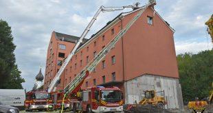 Kaminbrand Kraemersche Kunstmühle München Quelle Foto Feuerwehr München