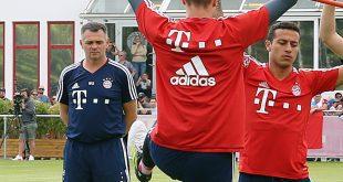 Willy Sagnol Interimstrainer beim FC Bayern München nach Ancelotti-Entlassung
