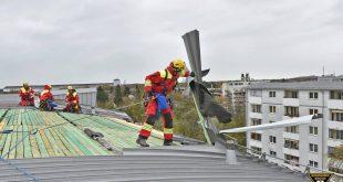 Feuerwehr-Einsätze München Unwetter Herwart Quelle Foto Berufsfeuerwehr München