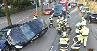 Verkehrsunfall Schönstraße Quelle Foto Feuerwehr München