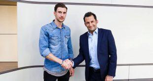 Leon Goretzka unterschreibt Vertrag beim FC Bayern München Quelle Foto Presseerklärung FC Bayern München