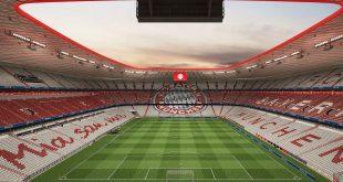 Die Allianz Arena bekommt rot-weiße Sitze Quelle Grafik: Allianz Arena / FC Bayern AG