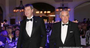 Auf dem CSU-Ball 2018 sind Markus Söder und Ludwig Spaenle noch Seite an Seite aufgetreten