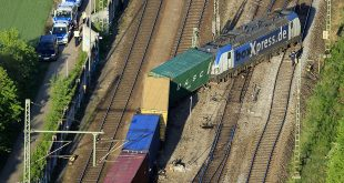 Güterzug in München-Riem entgleist Quelle Foto Bundespolizei