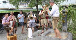 Brunnenfest Viktualienmarkt München