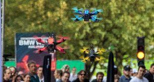 Drohnenrennen in der BMW-Welt München Quelle Foto BMW AG