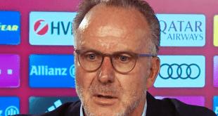 FC Bayern Vorstandschef Karl-Heinz Rummenigge