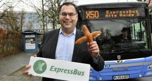 Expressbus X 50 startet am 10.12.2018, im Bild MVG Chef Ingo Wortmann, Quelle Foto: SWM/MVG