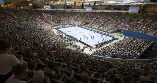 Handball Olympiahalle München. Foto ©Martin Hangen