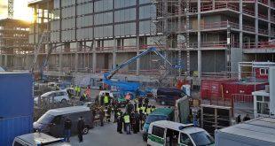 Zoll Razzia auf BMW Großbaustelle in München Quell Foto Hauptzollamt München