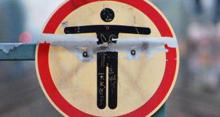 Schild Betreten der Gleise verboten Quelle Foto Bundespolizei