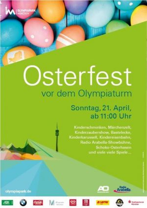 Osterfest im Olymiapark in München