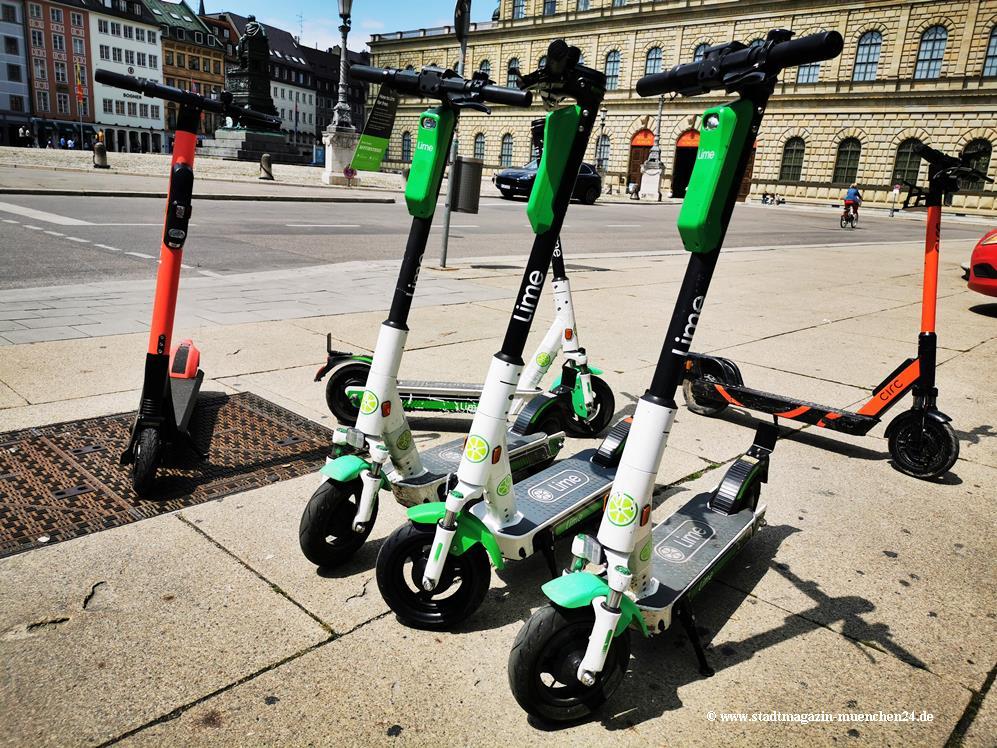 Symbolbild E-Scooter in München