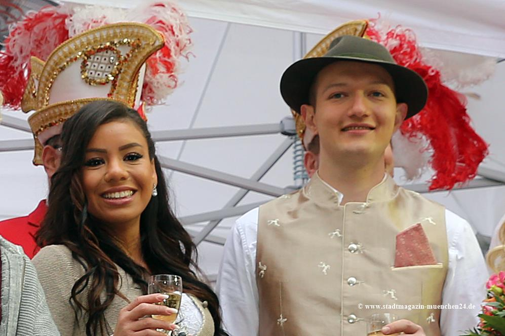 Narrhalla Prinzenpaar 2020 Moritz II. und Désireé I.