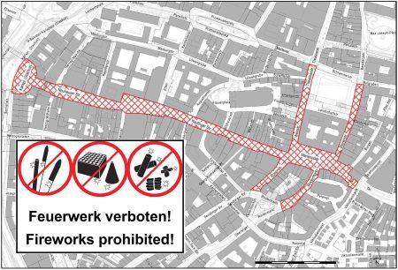 Feuerwerksverbotszone München