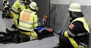 Katastrophenschutzübung zur Fußball EM 2020