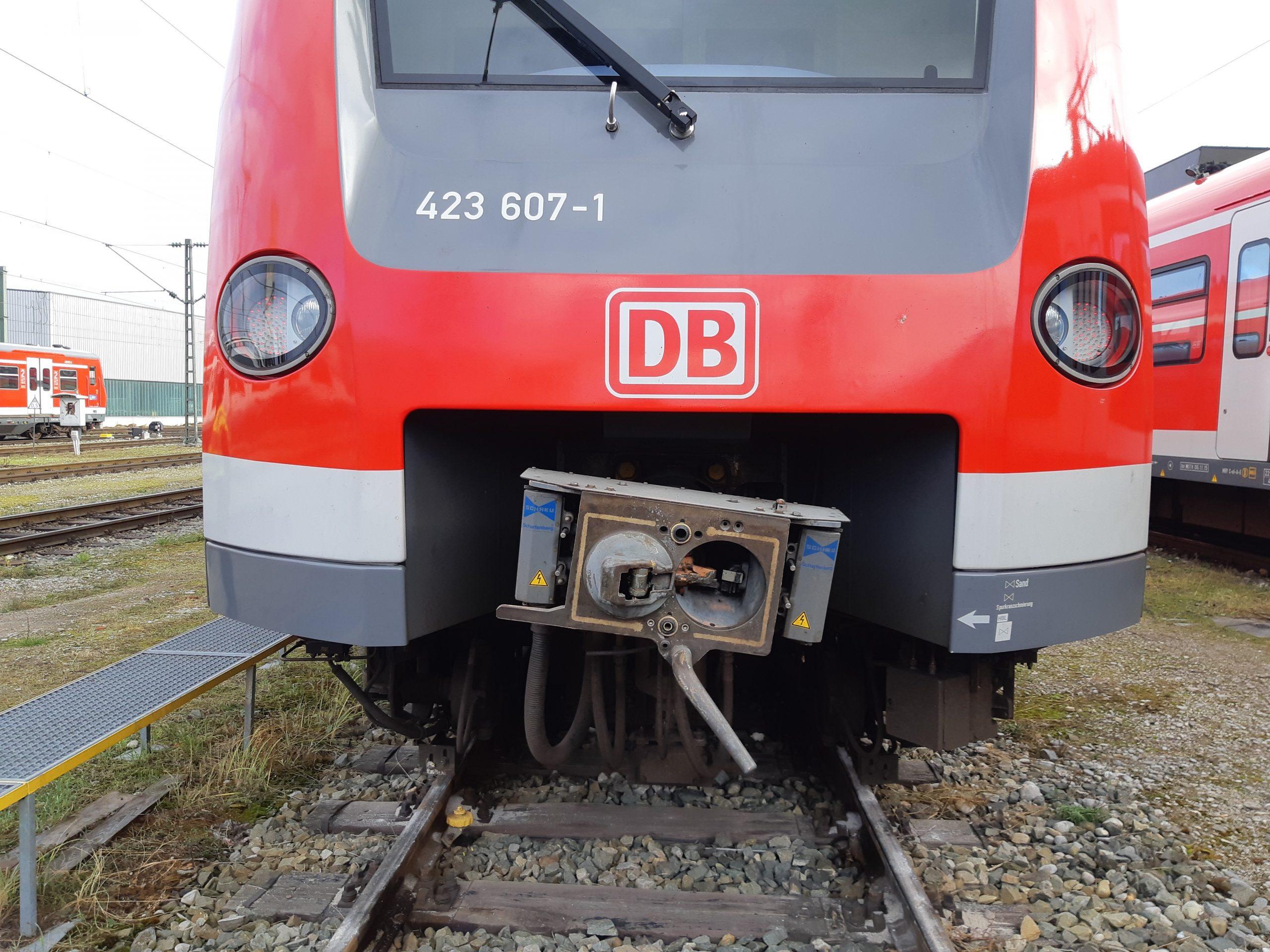 Rangierunfall S-Bahn München Steinhausen