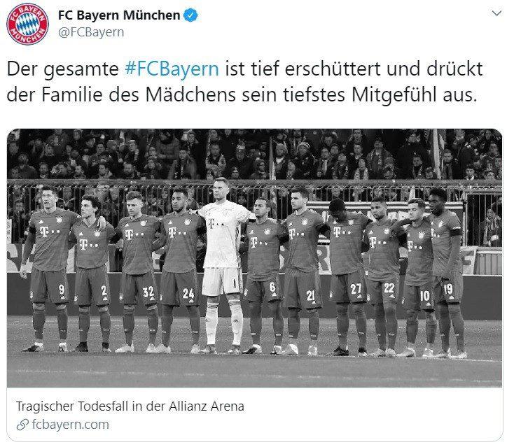 Trauer um den Tod der Nichte eines Paderborn-Spielers in der Allianz Arena