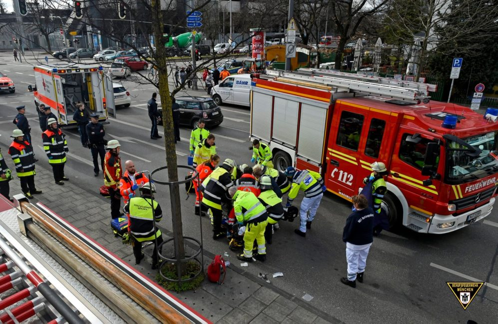 Tödlicher Verkehrsunfall Tegernseeer Landstraße München