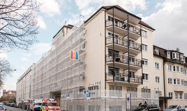 Viele Coronafälle in Alten- und Pflegeheim im Westend in München