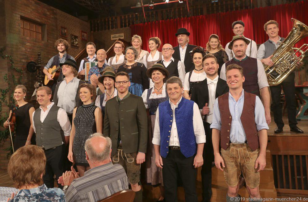 Ensemble Volkssänger Revue Brettlspitzen 11 Hofbräuhaus München