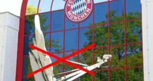 FC Bayern München Satellitenschüssel