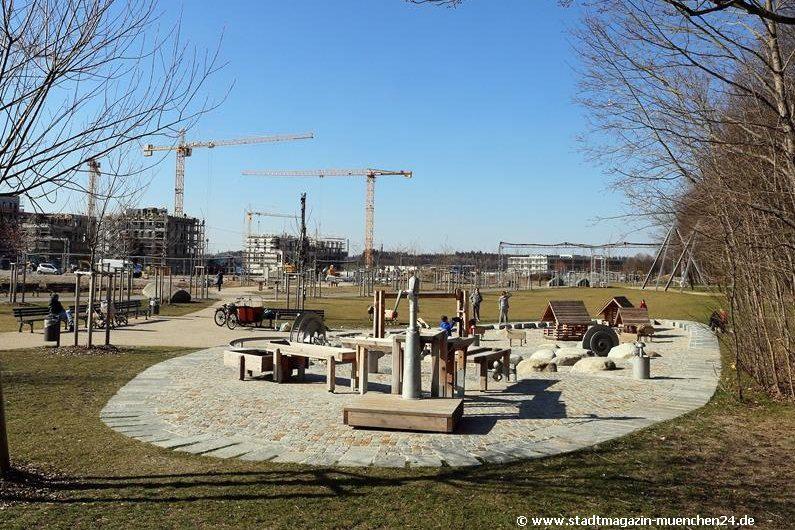 Kinderspielplatz Grünzug Freiham-Nord München