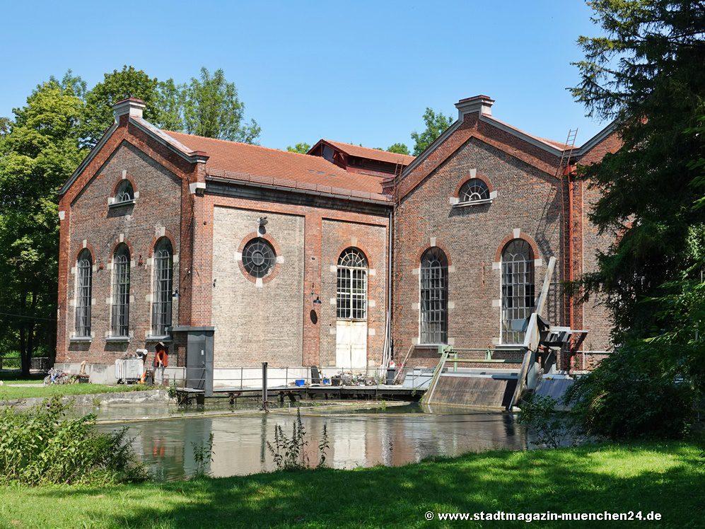 Unbekannte Leiche aus Rechen im Tivoli-Kraftwerk im Englischen Garten in München geborgen
