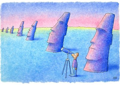 Easter Island telescope