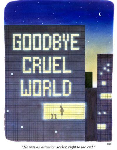 Goodbye Cruel World