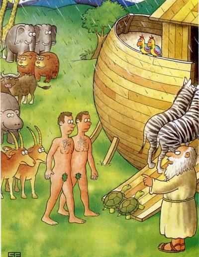 Homos and Noah's ark