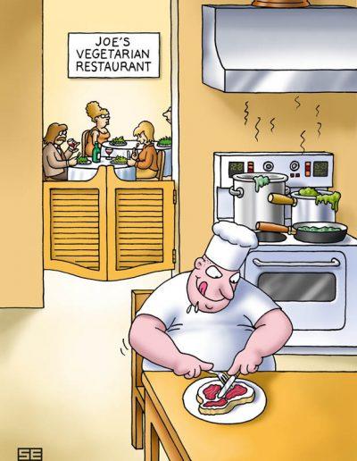 Joe's vegetarian restaurant